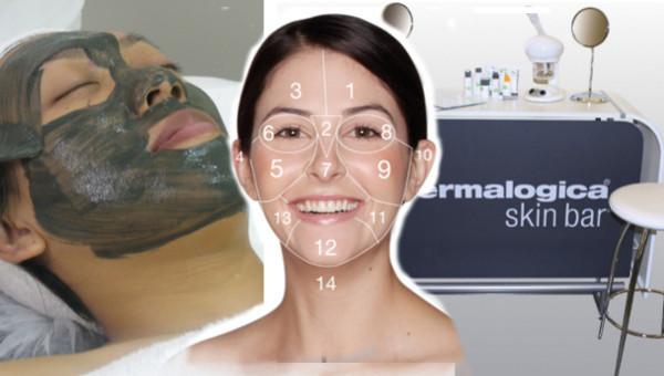 Face Mapping - Entdecken Sie alle Bereiche Ihres Gesichts
